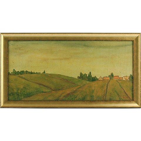 https://preciousart.de/Ölgemälde klassisches Landschaftsbild, Titel fuer Borinka, Rahmenformat Breite 65 x Hoehe 35 x Tiefe 3 cm
